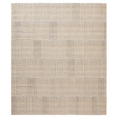 Soft Modern Persian Kilim Rug. Size: 8 ft 6 in x 10 ft