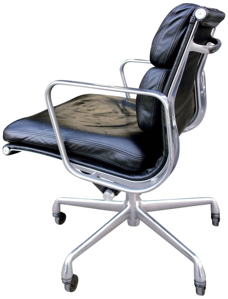 American Soft Pad Chairs by Eames for Herman Miller For Sale
