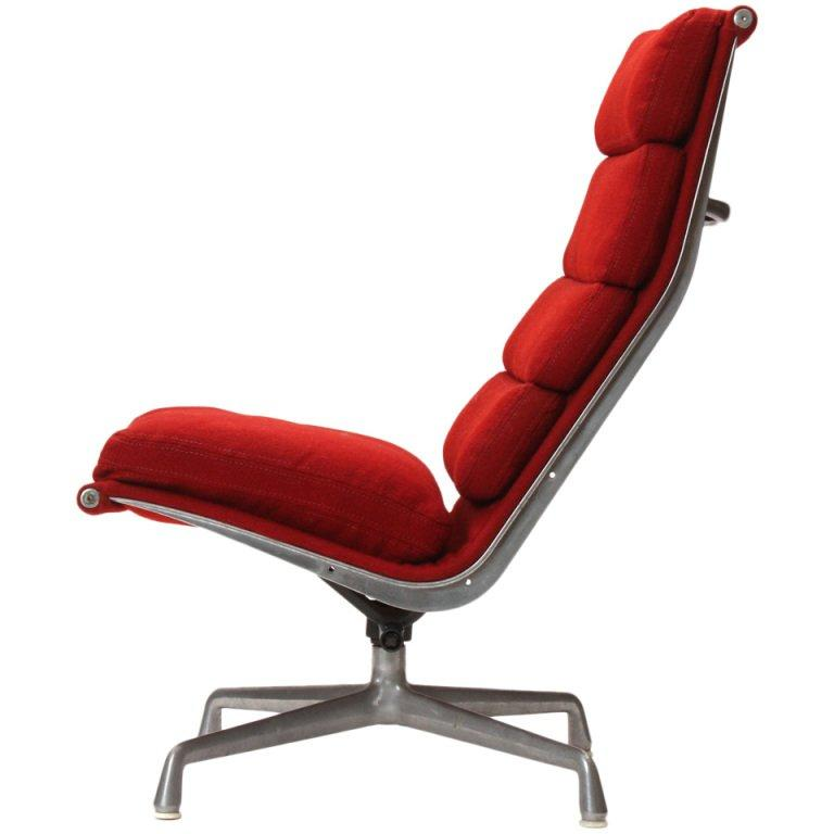Soft Pad Lounge Chair By Eames For Sale At 1stdibs