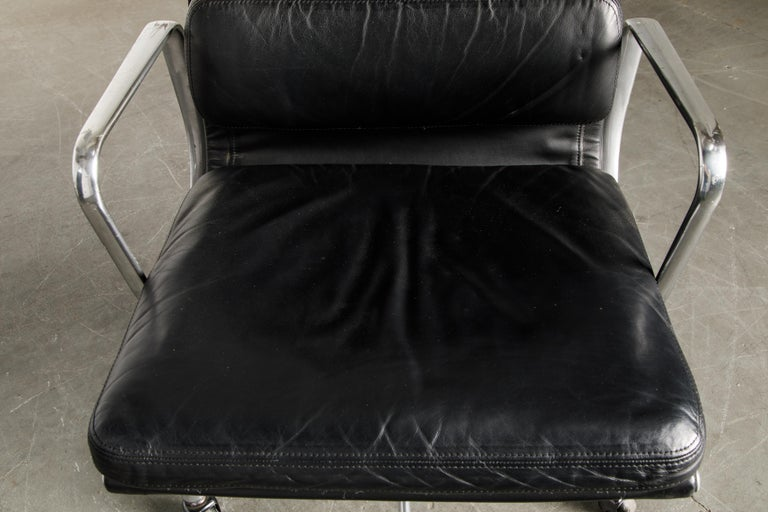 Soft Pad Management Chair by Charles Eames for Herman Miller, Signed & Dated For Sale 8