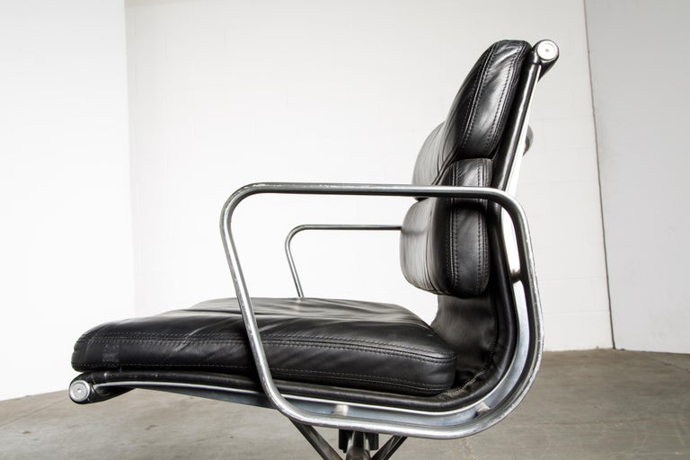 Soft Pad Management Chair by Charles Eames for Herman Miller, Signed & Dated For Sale 9
