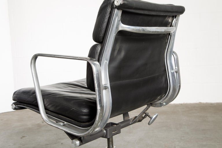 Soft Pad Management Chair by Charles Eames for Herman Miller, Signed & Dated For Sale 10