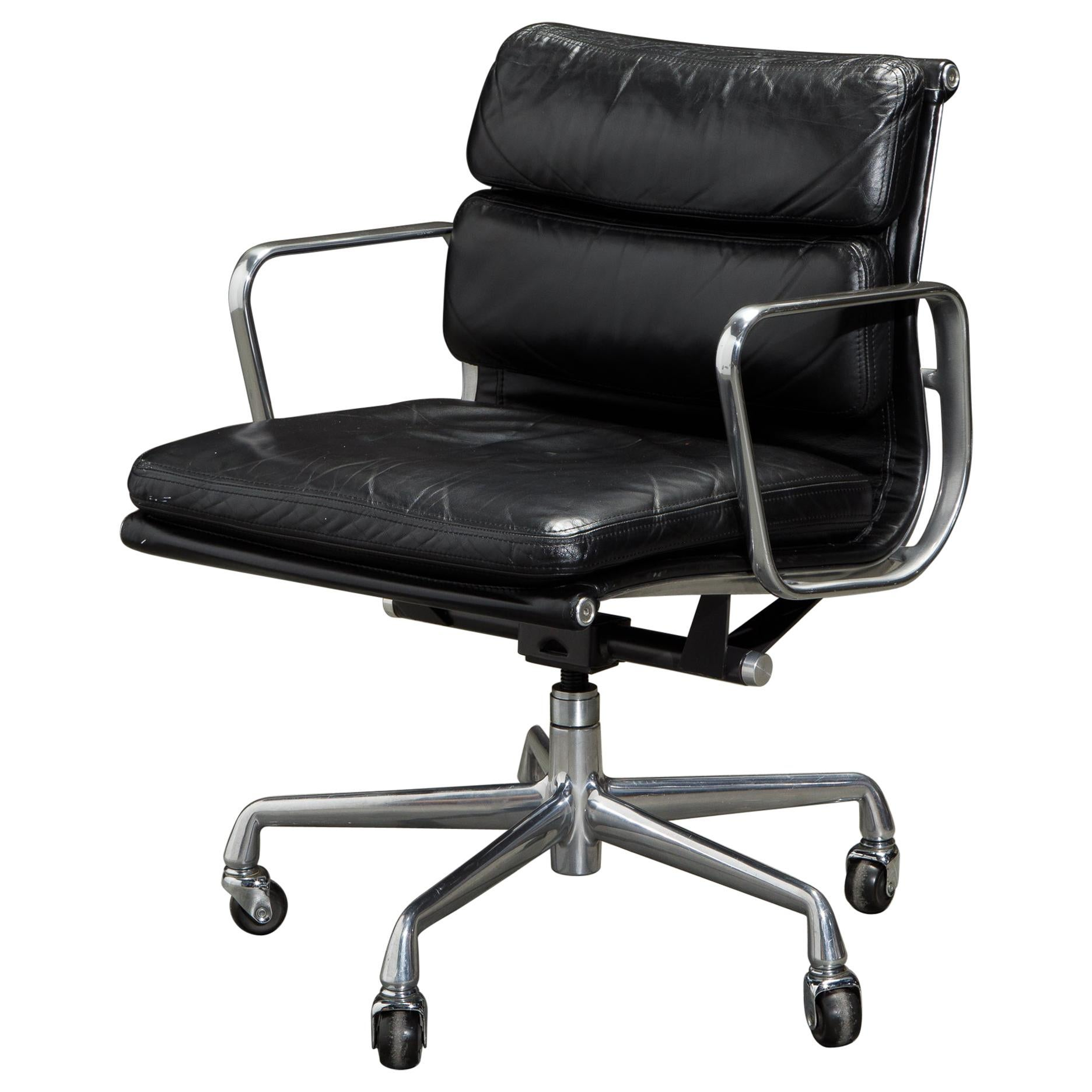 Soft Pad Management Chair by Charles Eames for Herman Miller, Signed & Dated