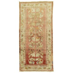 Soft Pink Salmon Turkish Rug