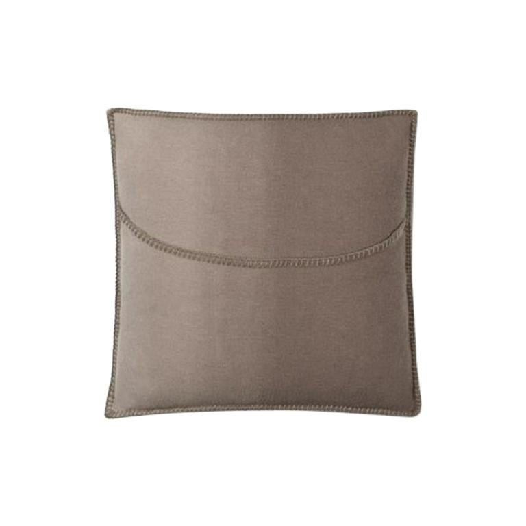 Molteni&C Soft Plaid Cushion Merino Wool For Sale
