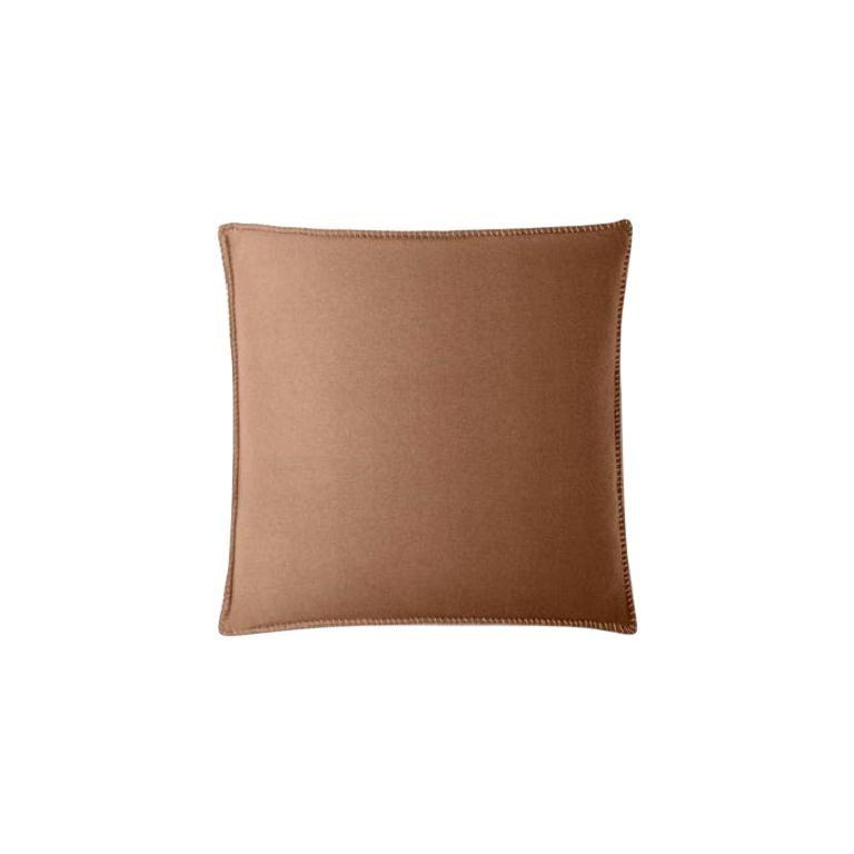 Molteni&C Soft Plaid Cushion Merino Wool For Sale