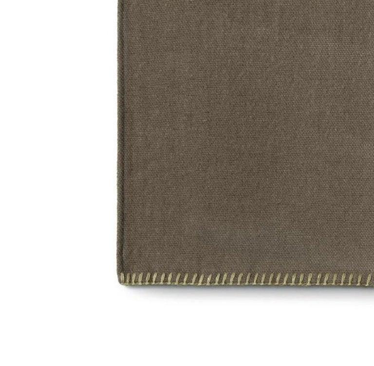 Modern Molteni&C Soft Plaid Marta Ferri Design Merino Wool For Sale