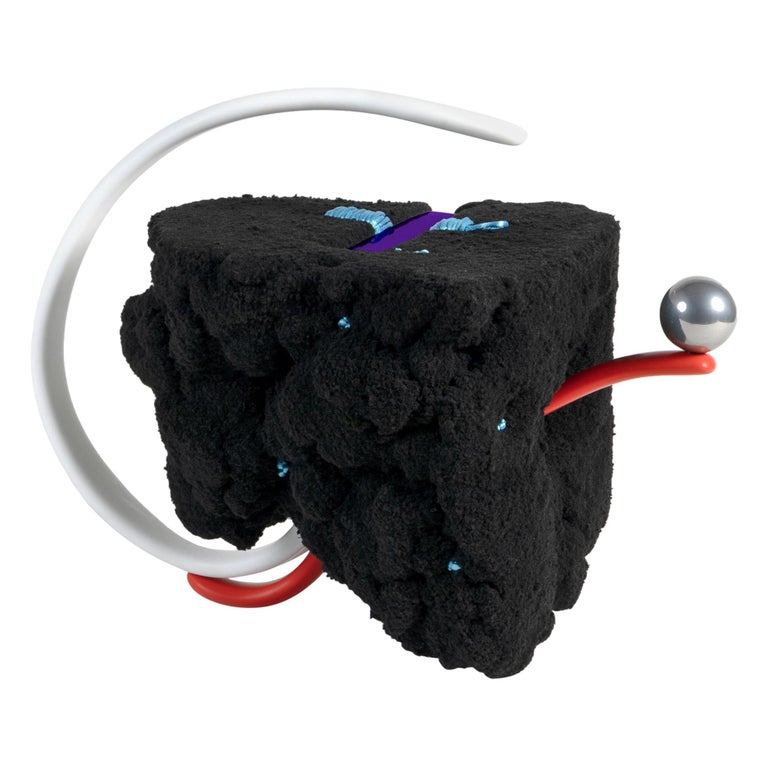 """""""Soft Rock (Black)"""", Designed and Made by John Souter For Sale"""