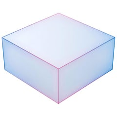 Soft Violet and Pink Medium Low Side Table, by Design Nendo from Glas Italia