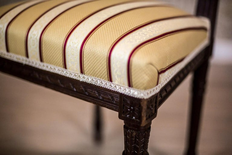 Softly Upholstered Chairs in the Louis XVI Type, circa Early 20th Century For Sale 1