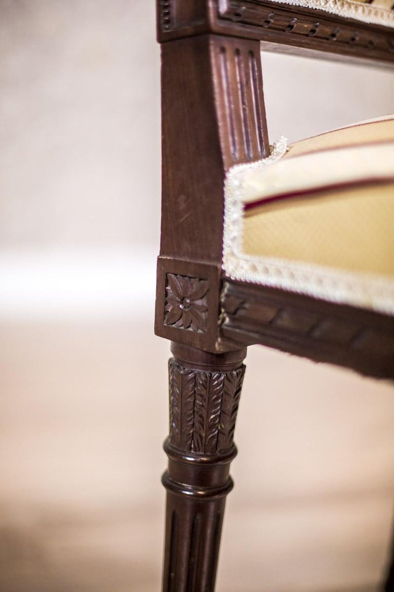 Softly Upholstered Chairs in the Louis XVI Type, circa Early 20th Century For Sale 2