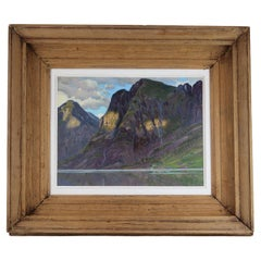 Sognefjord, Norway, Edward Louis Lawrenson, 1924