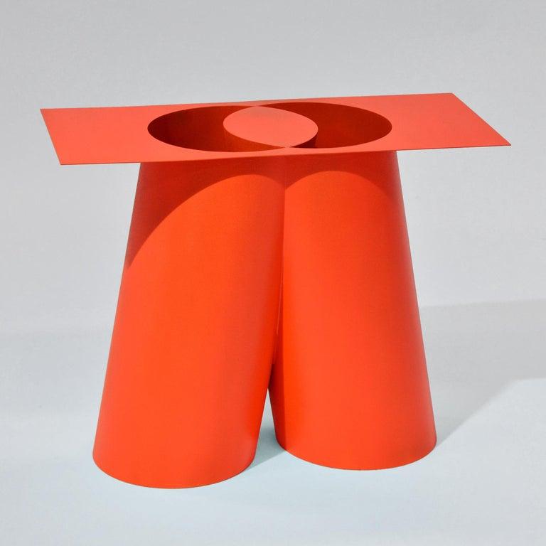 Minimalist Sohma Furutate Mass Stool Contemporary Steel Work For Sale