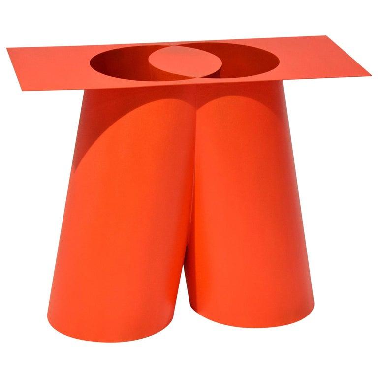 Sohma Furutate Mass Stool Contemporary Steel Work For Sale