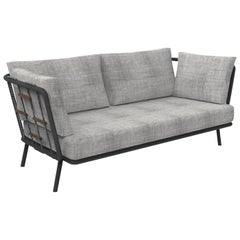 Soho 2-Seat Outdoor Sofa Light Gray