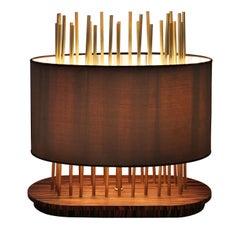 Soho Oval Table Lamp by Leo Alvarez