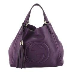 Soho Shoulder Bag Leather Medium