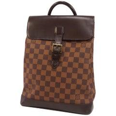 Soho  Womens  ruck sack  Daypack N51132  Damier ebene Leather