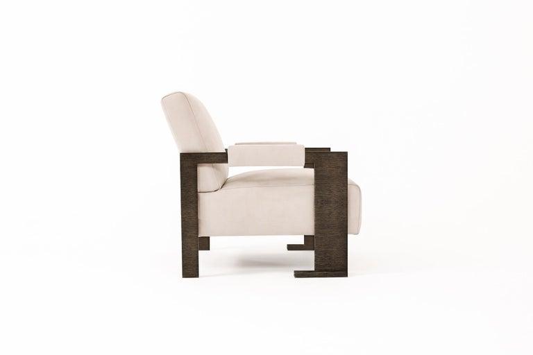Mid-Century Modern Sol Armchair - Oak Finish - Size II For Sale