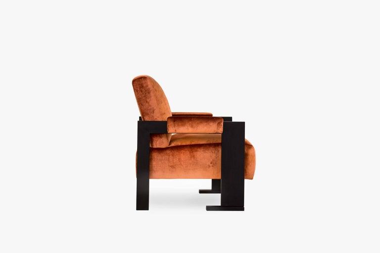 Sol Armchair - Oak Finish - Size II For Sale 1
