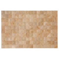 California Inspired Sol Biscotti Cowhide Rug