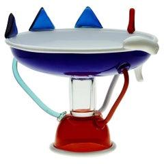Sol Glass Fruit Bowl, by Ettore Sottsass from Memphis Milano
