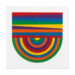 Arcs and Bands in Color, 1999, Minimalism, Abstract Geometric