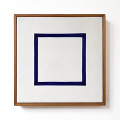 Blue Square (from Five Geometric Figures)