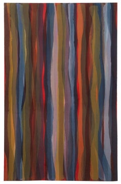 Brushstrokes in Different Colors in Two Directions: Plate #04