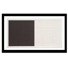 """""""Grids and Color Plate #41"""" by Sol Lewitt"""