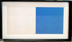 """""""Grids and Color Plate # 27"""" by Sol Lewitt"""