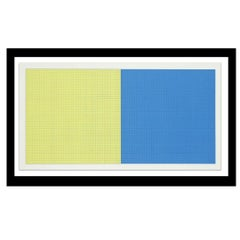 """""""Grids and Color Plate #40"""" by Sol Lewitt"""