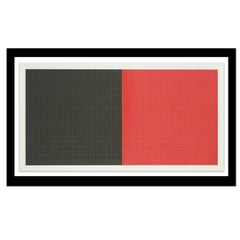 """""""Grids in Color Plate #2 """" by Sol Lewitt"""