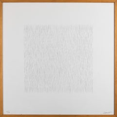 Lines of 1 Inch in 4 Directions and All Combinations, Plate #01 - 1971