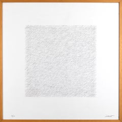 Lines of One Inch in Four Directions and All Combinations - Sol Lewitt - 1971