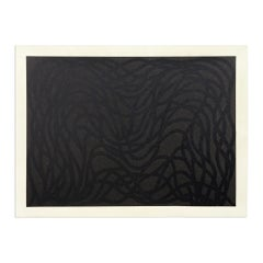 Loopy Doopy (Black/Gray), Abstract Art, Conceptual Art, Minimalism