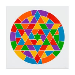 Tondo 4 (from Tondo Stars), Conceptual Art, Minimalism, Abstract Geometric