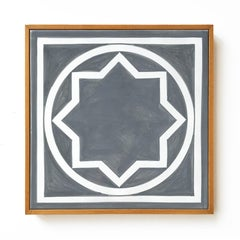 Untitled, Ceramic Wall Tile (Grey), Geometric Abstraction, Minimalism