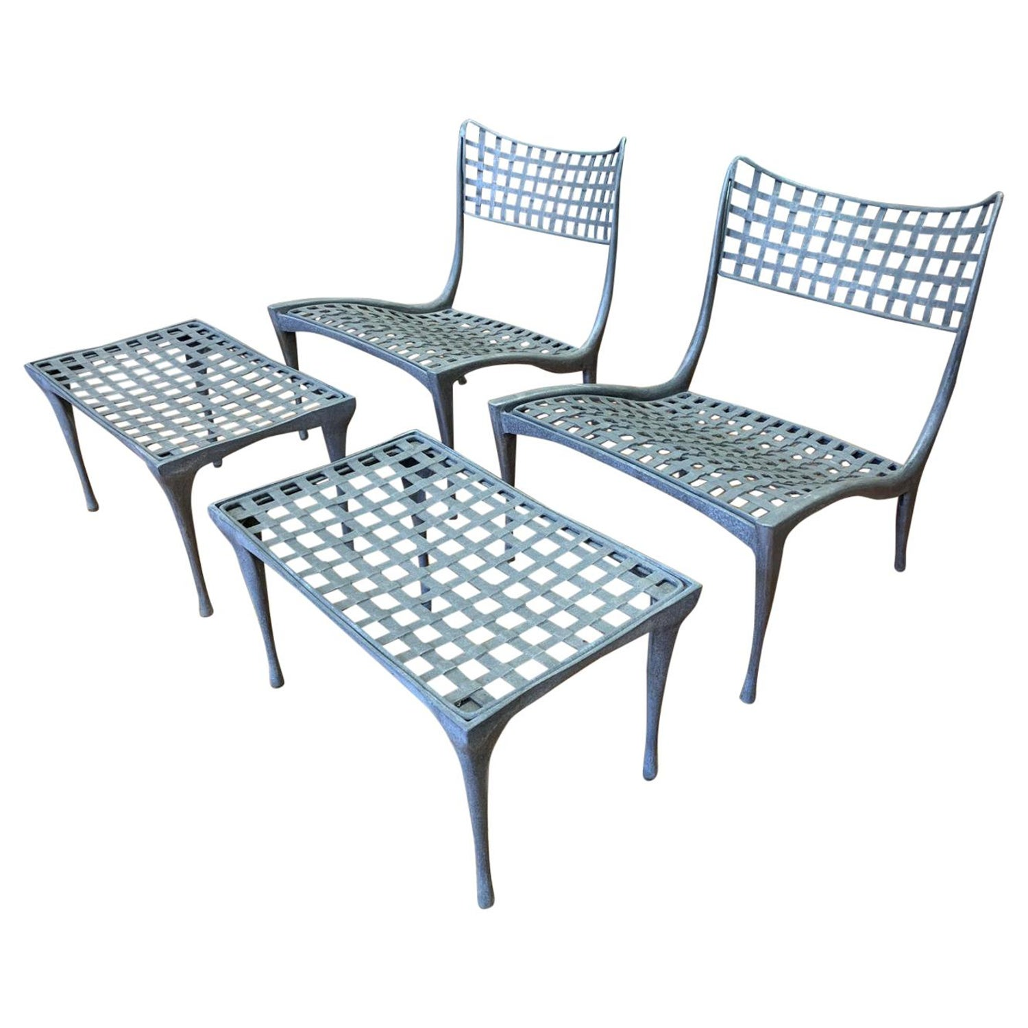 Prime Sol Y Luna Aluminum Outdoor Lounge Chairs And Ottomans By Uwap Interior Chair Design Uwaporg