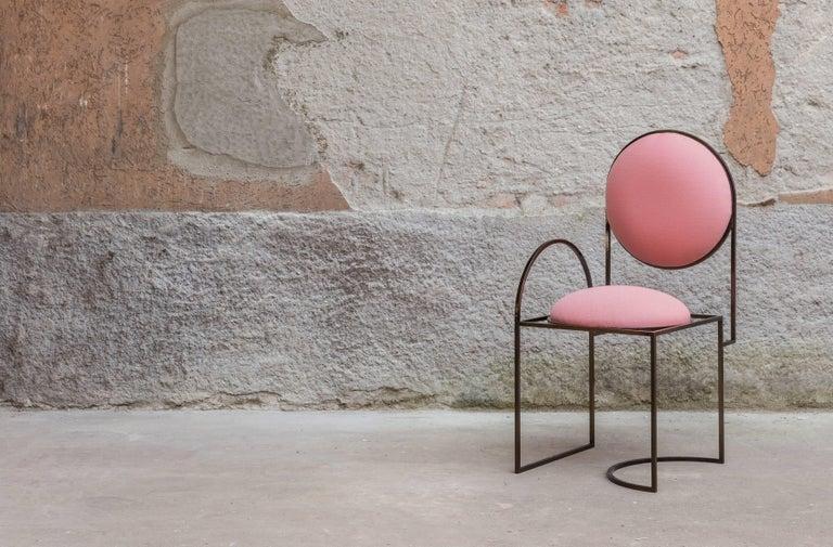 Modern Solar Chair in Pink by Lara Bohinc For Sale