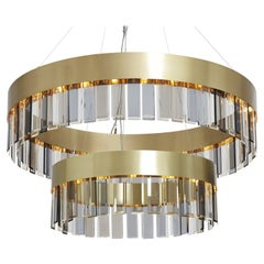 Solaris Twin Pendant by CTO Lighting