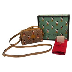 SOLD OUT Gucci Mickey Mouse Year of the Rat Crossbody Shoulder Bag Purse