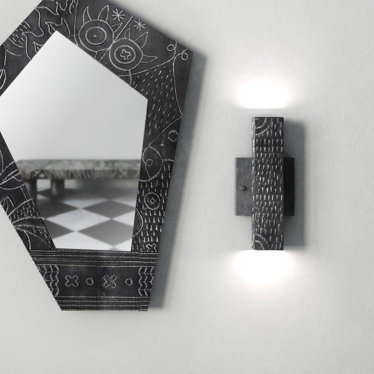 Modern Soldita Mirror by Andre Teoman Studio For Sale