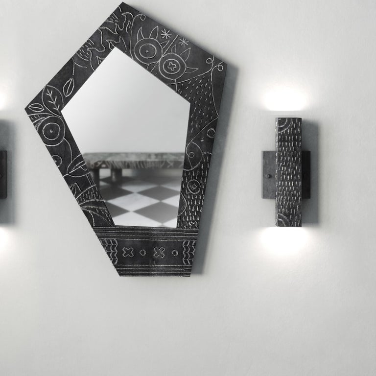 Portuguese Soldita Mirror by Andre Teoman Studio For Sale