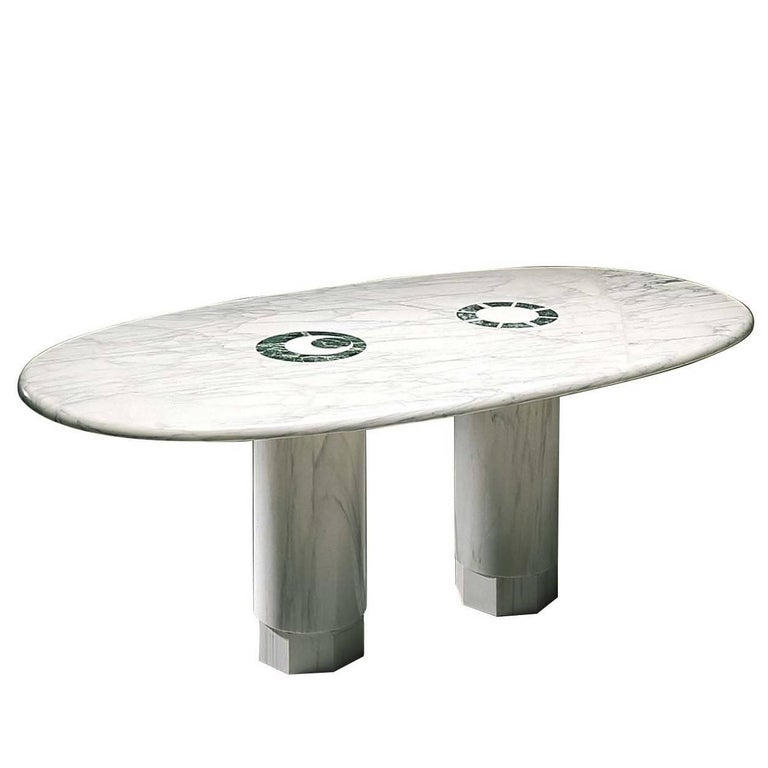Sole & Luna Table by Adolfo Natalini For Sale
