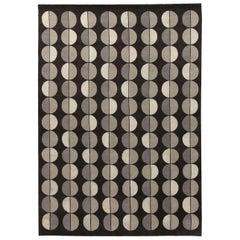 Sole Luna Brown Carpet by Gio Ponti