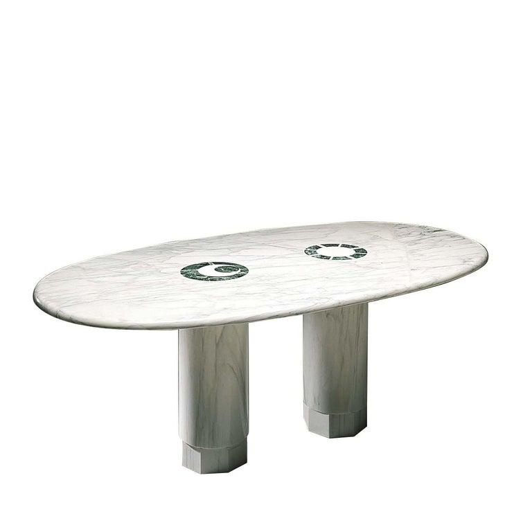 Italian Sole & Luna Table by Adolfo Natalini For Sale