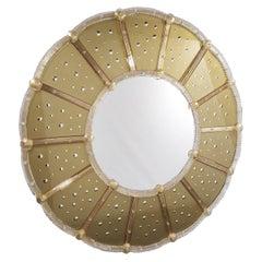 Sole Murano Glass Mirror