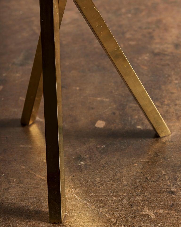 Sole Ricciuto Side Table by Piero Fornasetti for Fornasetti Milano, 1960s In Good Condition For Sale In Santa Fe, NM