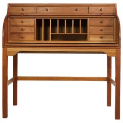 Solid American Cherrywood Writing Desk by Andreas Hansen